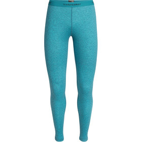 Icebreaker 200 Oasis Sky Paths Leggings Damer, arctic teal